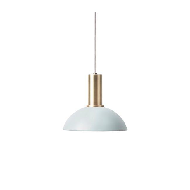 Addison Pendant Lamp - Brass, Light Blue - 0