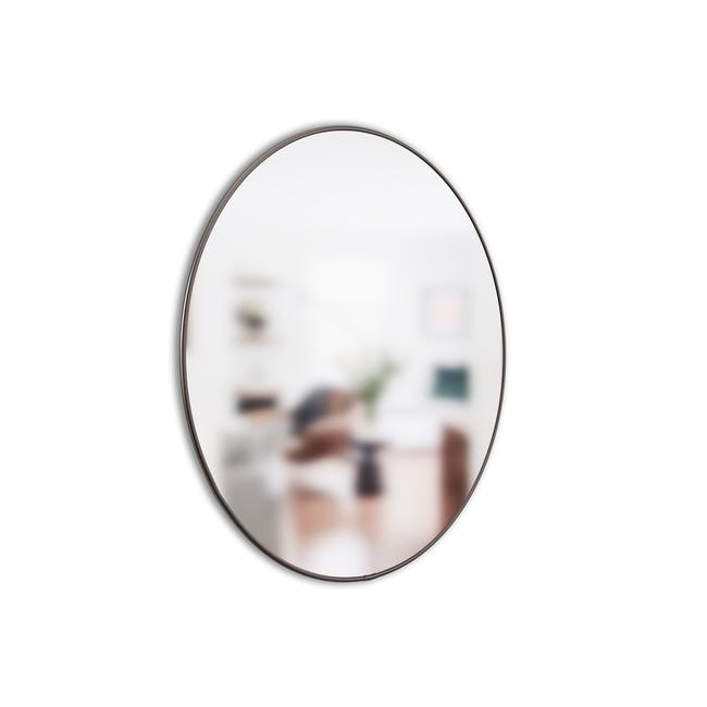 Hubba Round Mirror 86 cm - Chrome - 2