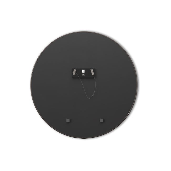 Hubba Round Mirror 86 cm - Chrome - 4