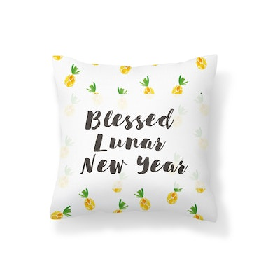 Blessed Lunar New Year Cushion Cover