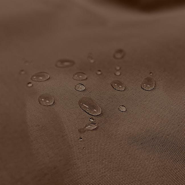 Splash Waterproof Outdoor Triangle Bean Bag - Brown - 2