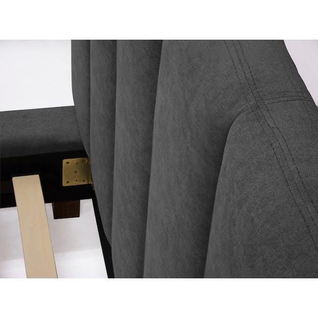 Elliot King Bed - Onyx Grey - 12