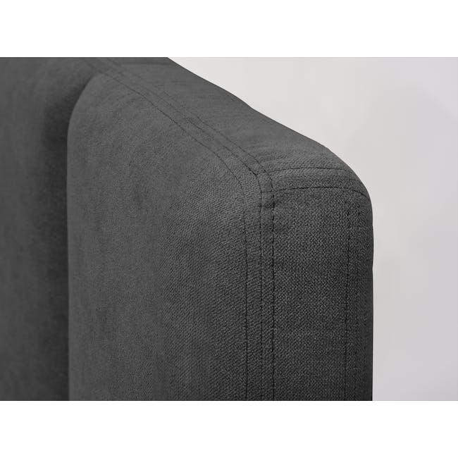Elliot King Bed - Onyx Grey - 7