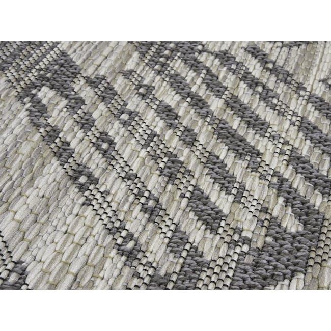 Mira Flatwoven Rug 2.9m x 2m  - Dark Lines - 1