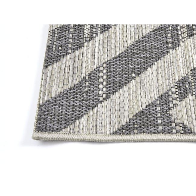 Mira Flatwoven Rug 2.9m x 2m  - Dark Lines - 2