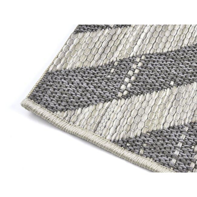 Mira Flatwoven Rug 2.9m x 2m  - Dark Lines - 3
