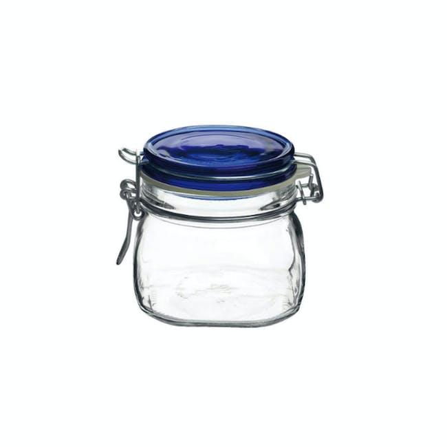 Fido Jar Herm 500 - Blue Top - 0
