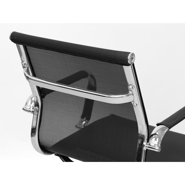 Eames High Back Mesh Office Chair Replica - Black - 2