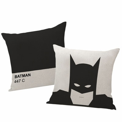 Ultra Minimalist Batman Cushion