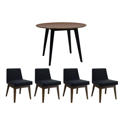 Ralph 4 Seater Round Dining Room Set