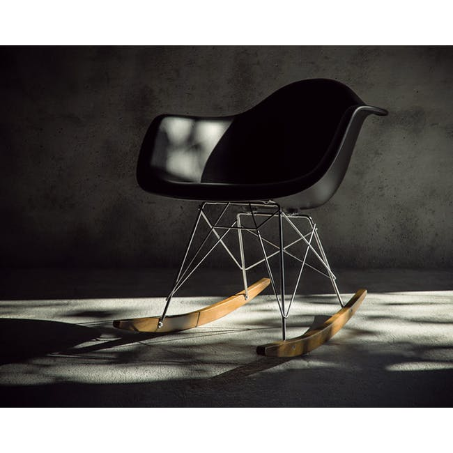 (As-is) RAR Rocking Chair - Black - 2 - 5