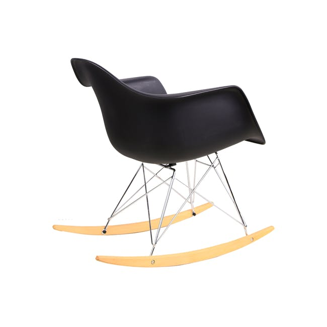 RAR Rocking Chair Replica - Black - 4