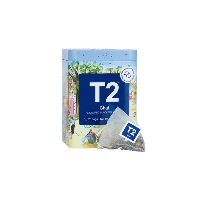 T2 Icon Tins - Chai (2 Options) - 1