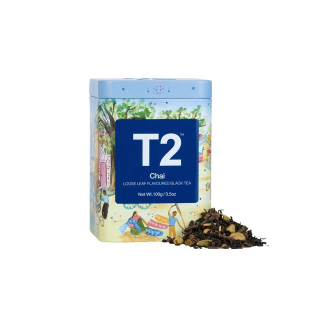 T2 Icon Tins - Chai (2 Options) - 0
