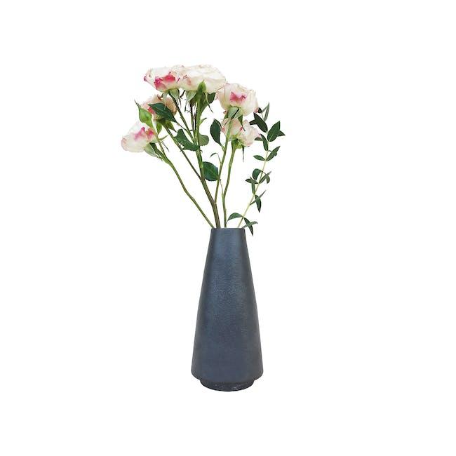 Nordic Matte Vase Tall Classic Cylinder - Matte Black - 0