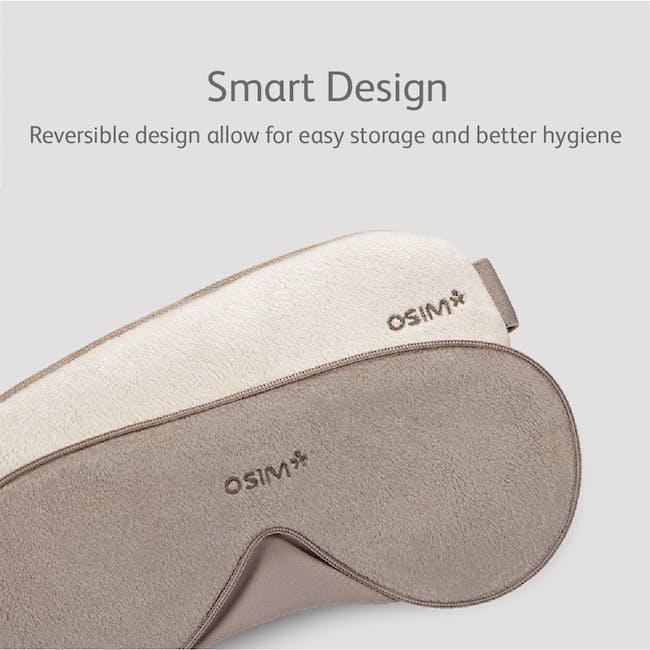 OSIM uMask Eye Massager - Latte - 6