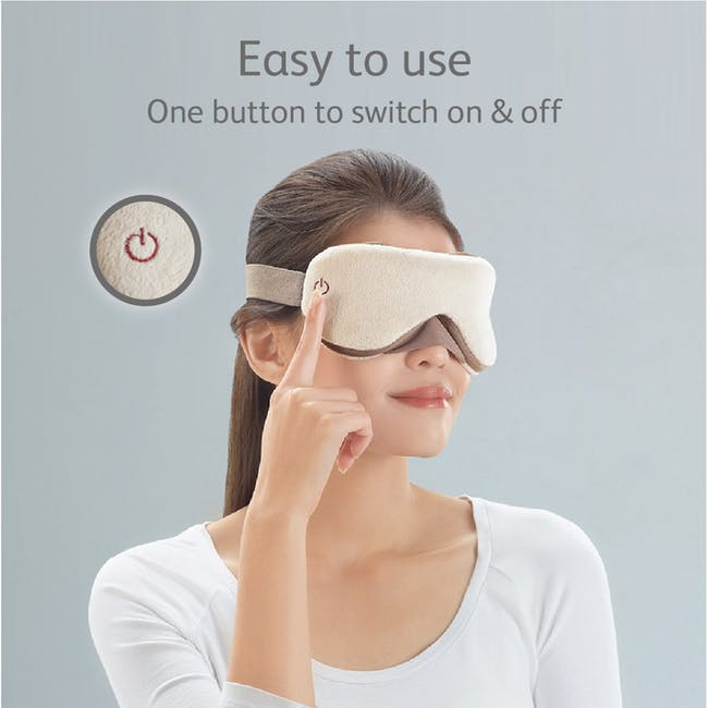 OSIM uMask Eye Massager - Latte - 7