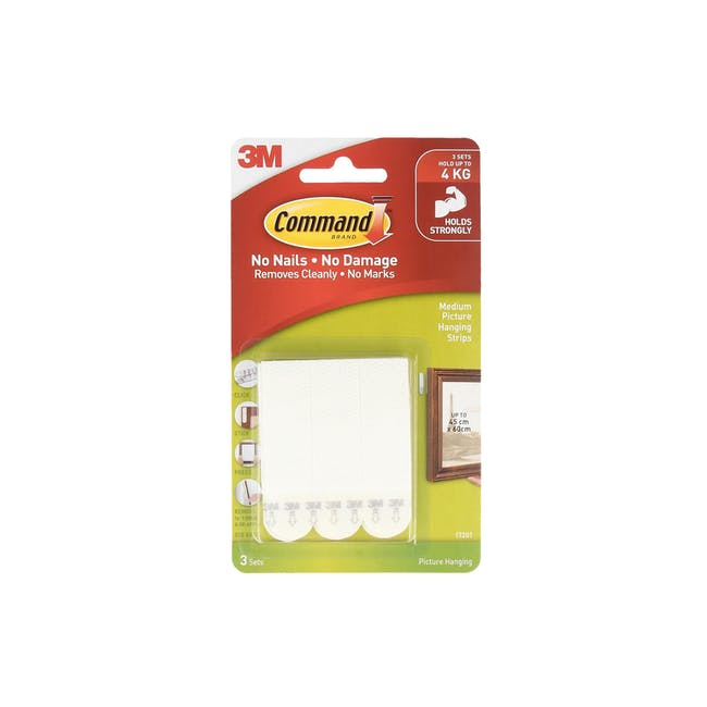 Command™ Picture Hanging Strips - White - 1