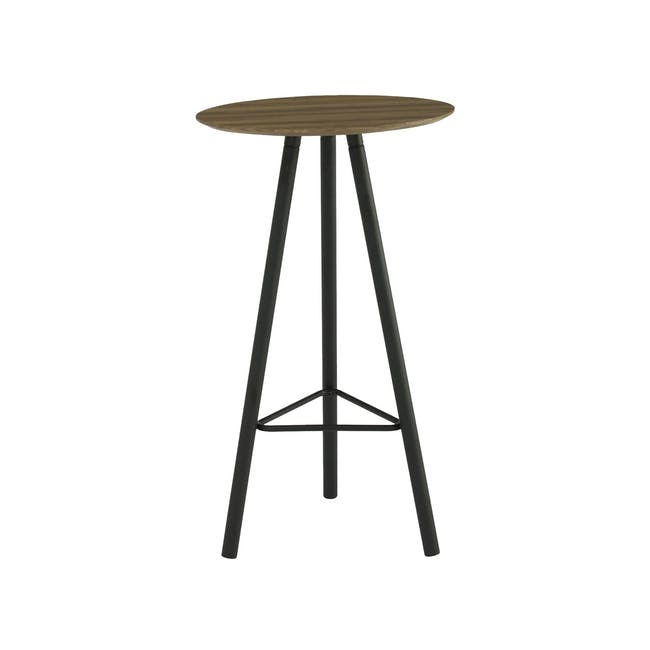 Corwin Bar Table 0.6m - Vintage Oak - 0