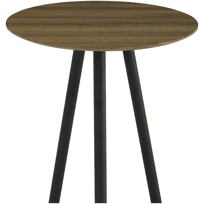 Corwin Bar Table 0.6m - Vintage Oak - 2