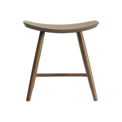 Philana Stool - Walnut Veneer - Image 2