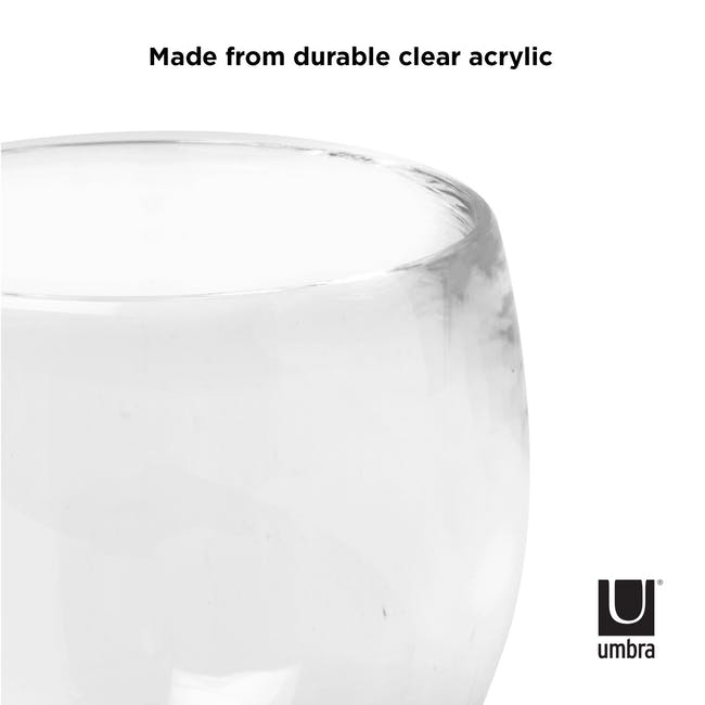 Droplet Tumbler - Clear - 3