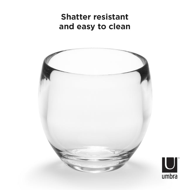 Droplet Tumbler - Clear - 4
