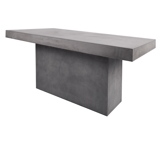Concrete Furniture by HipVan - Ryland Concrete Dining Table 1.6m