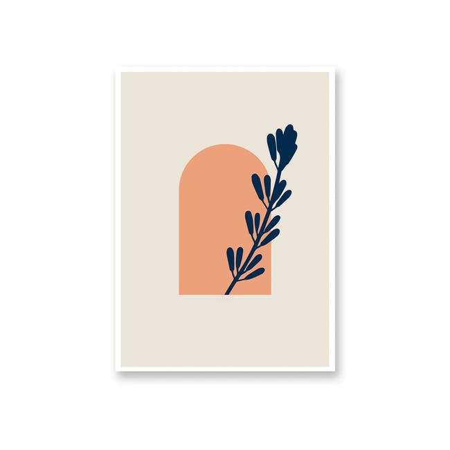 Borderless Abstract Art Print on Paper (2 Sizes) - Peek - 0