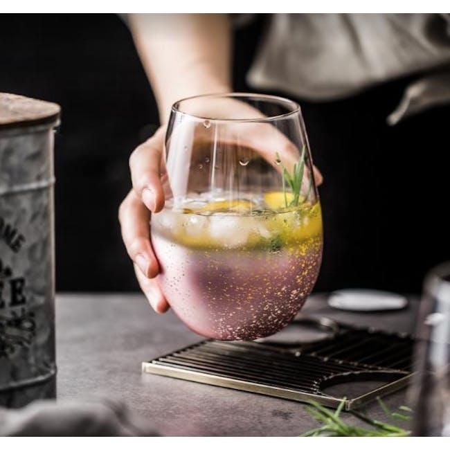 Table Matters Taikyu Luster Glass 530ml - Pink - 1