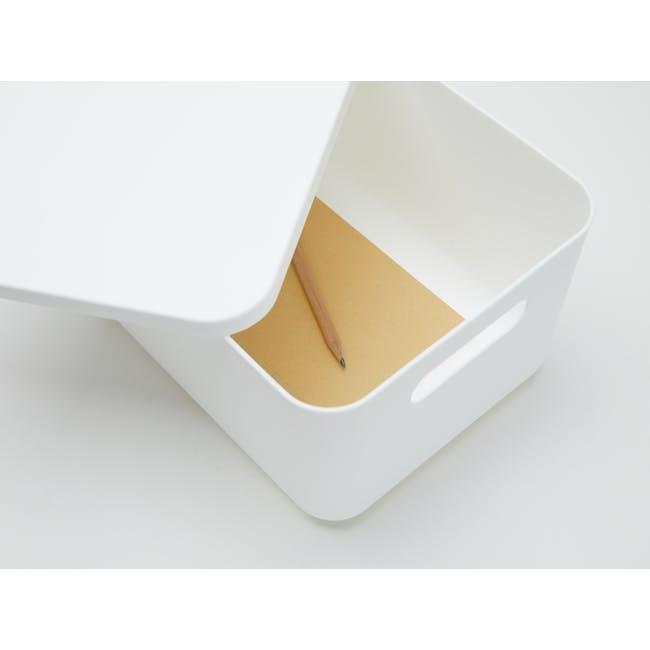 Lussa Storage Box with Lid - Medium - 1