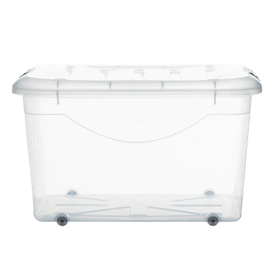 60L Motif Storage Box with Wheels - Image 2