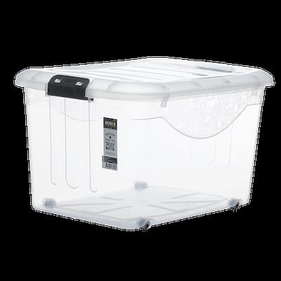 60L Motif Storage Box with Wheels - Image 1