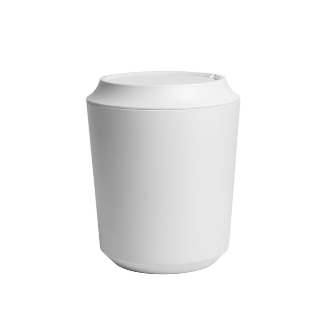 Corsa Can with Lid - White - 0