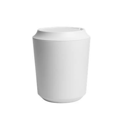 Corsa Can with Lid - White - Image 1