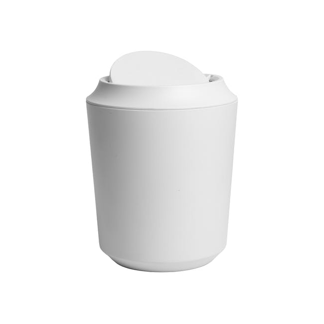 Corsa Can with Lid - White - 1