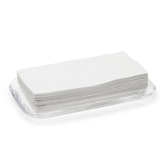 Droplet Amenity Tray - Clear - 2