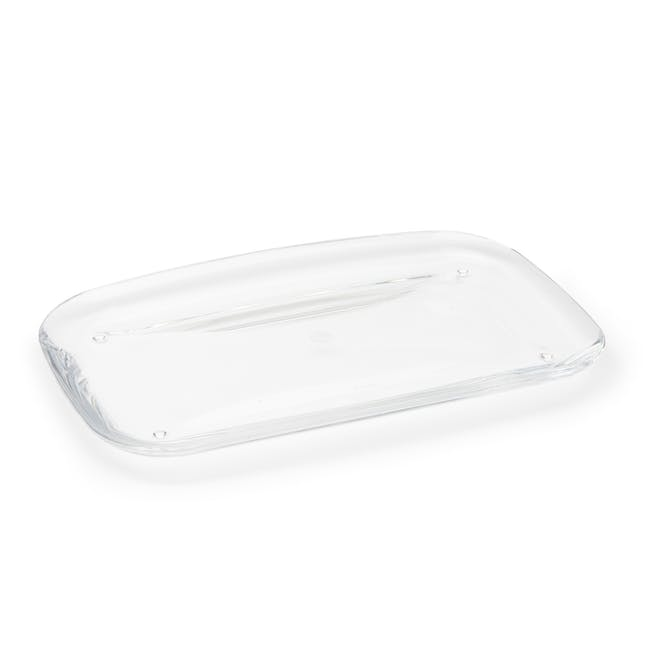Droplet Amenity Tray - Clear - 3