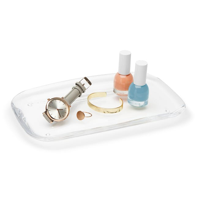 Droplet Amenity Tray - Clear - 1