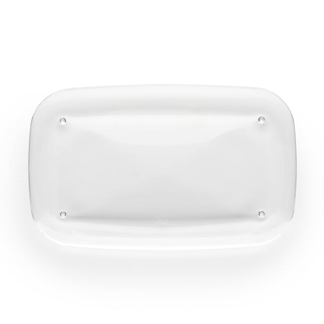 Droplet Amenity Tray - Clear - 4