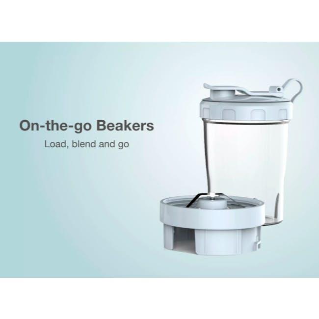 Odette Multifunction 2-Speed Table Top Personal Blender - Light Blue - 6