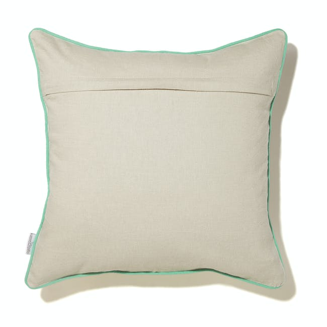 Expect Good Things To Happen Cushion Cover - Pastel Green - 1