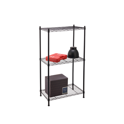 3-Tier Multi Utility Shelf L60 cm - Black - Image 2