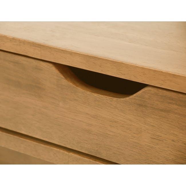 Lamar Twin Drawer Coffee Table - Oak - 6