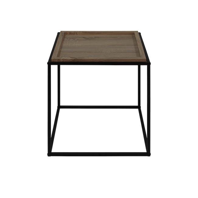 Dana Square Side Table - Walnut - 2