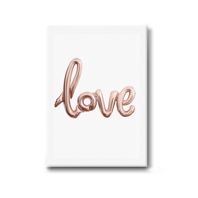 Love Stretched Canvas Art Print