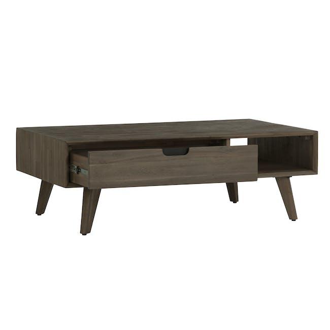 Tilda Single Drawer Coffee Table with Tilda High Side Table - 6