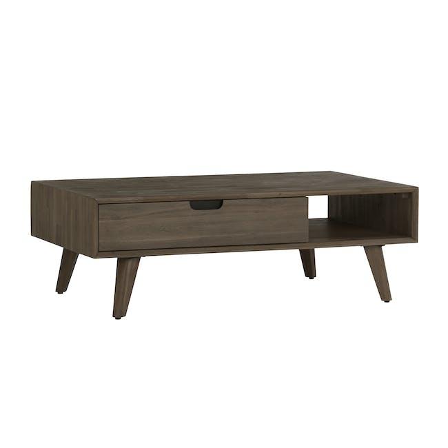 Tilda Single Drawer Coffee Table with Tilda High Side Table - 8