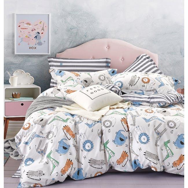 Little Monsters 4-pc Bedding Set (2 Sizes) - 0