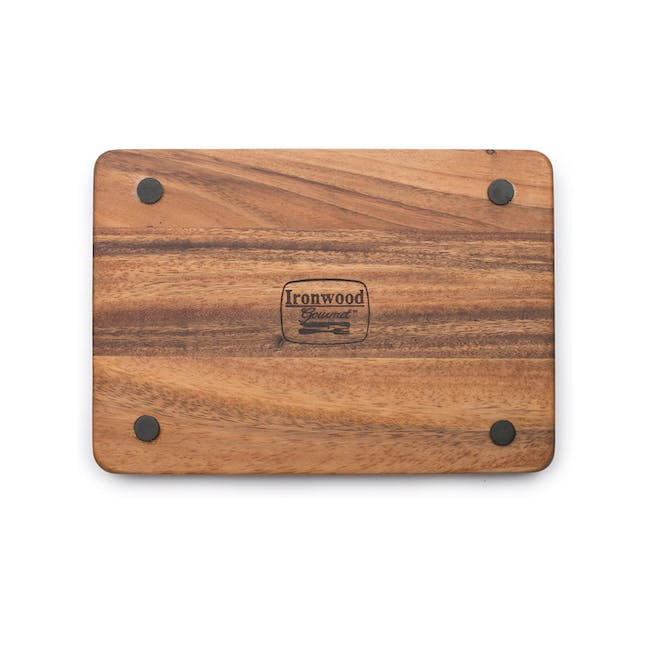 Ironwood Cutting Cheese Acacia Board With Small Knife Holder - 3